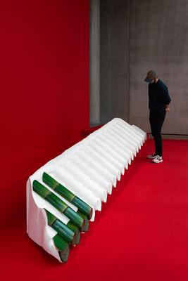 Lap-See Lam, Beyond Between (2018) installation view, Trondheim kunstmuseum. Photo Susann Jamtøy (Foto/Photo)