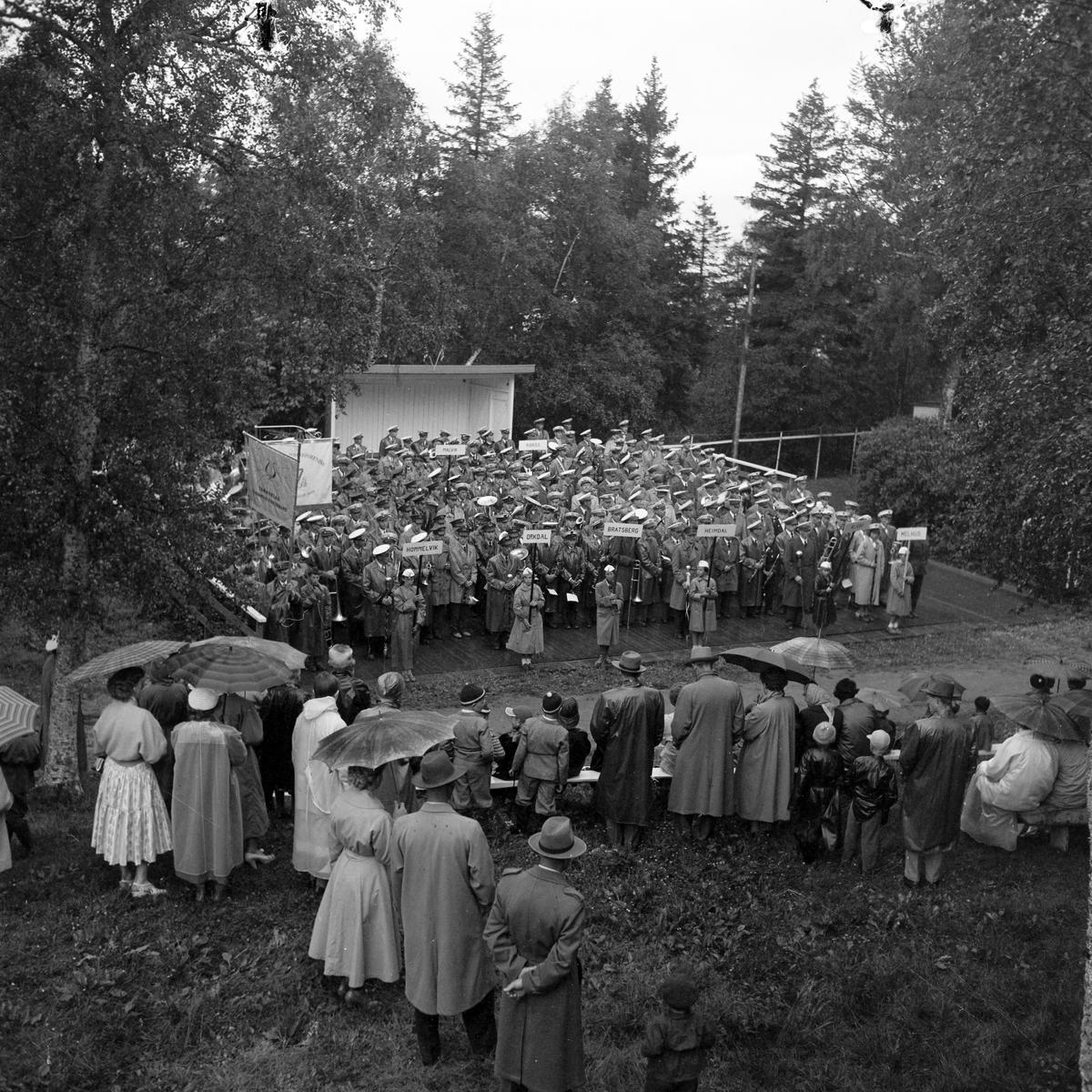 Trøndelag Hornmusikkforbunds kretsstevne på Ranheim
