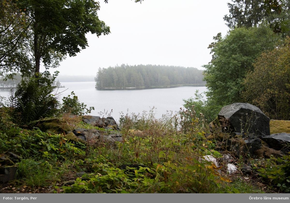 Kärvingeborn hyttmiljö.