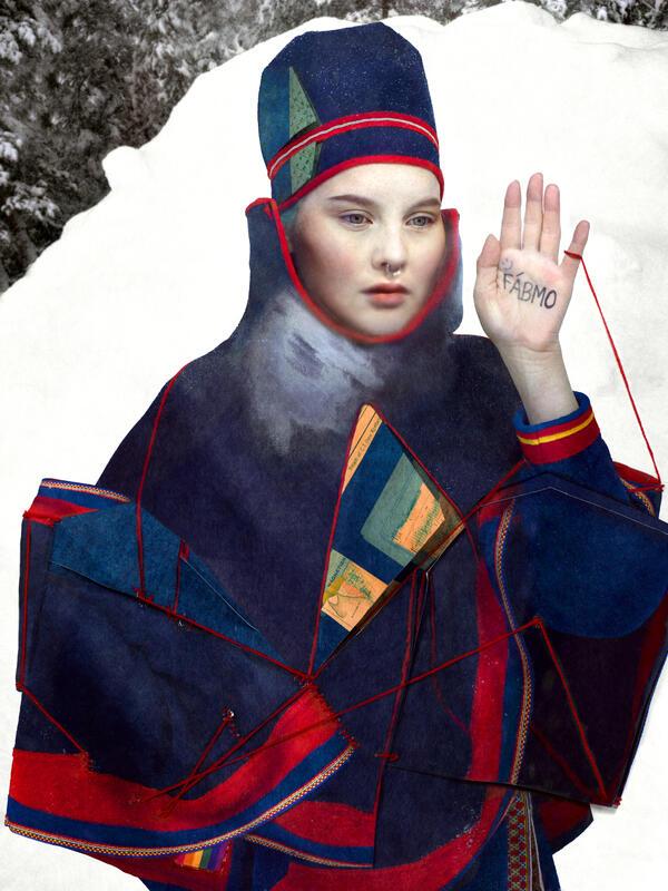 "Katarina in Blue fra utstillinga ""Interruptions"" (Foto/Photo)"