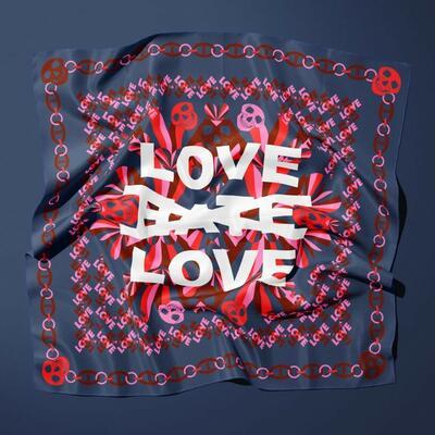 Flag_your_ideas_love_hate_flag_kvadrat.jpg. Foto/Photo