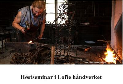 Høstseminar Løfte håndverket 2021. Foto/Photo