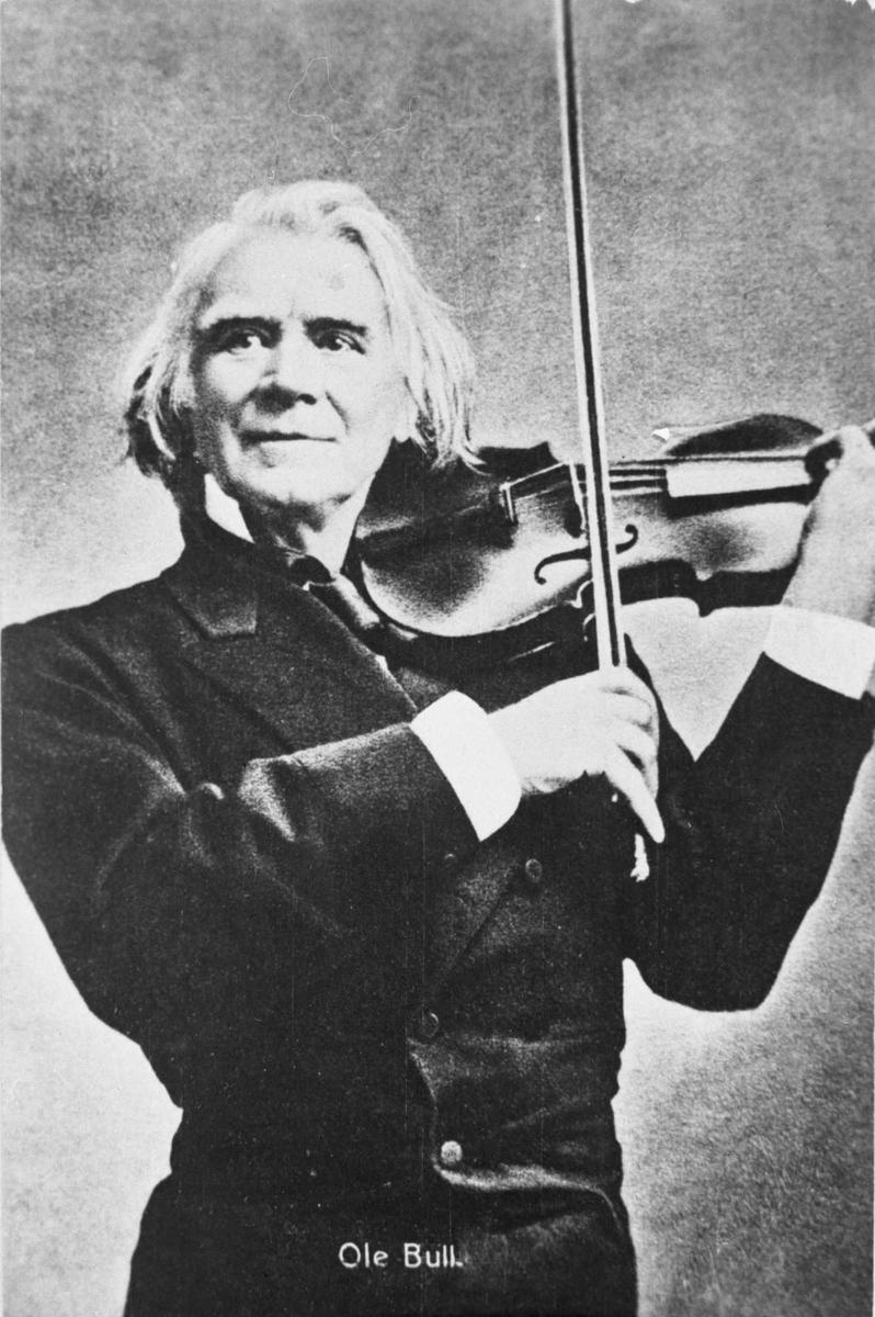 Ole Bull, fiolin,