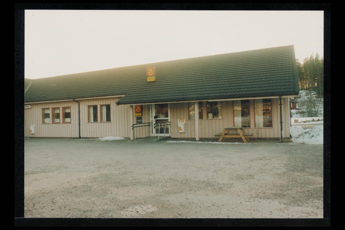 eksteriør, postkontor, 8890 Leirfjord, Sandnessjøen, postskilt
