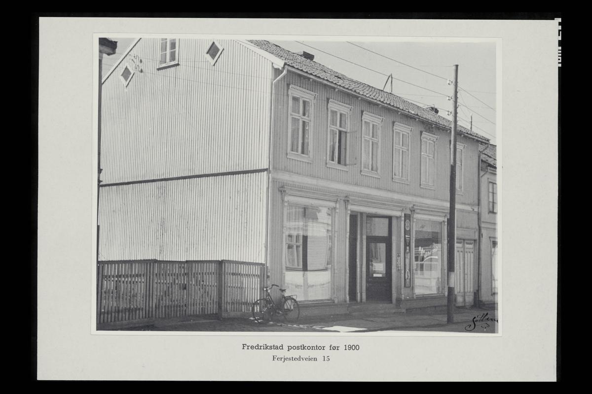 eksteriør, postkontor, 1600 Fredrikstad