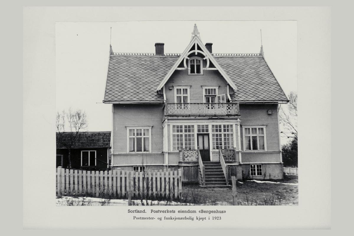 eksteriør, postverkets eiendom, 8400 Sortland, Bergenhus