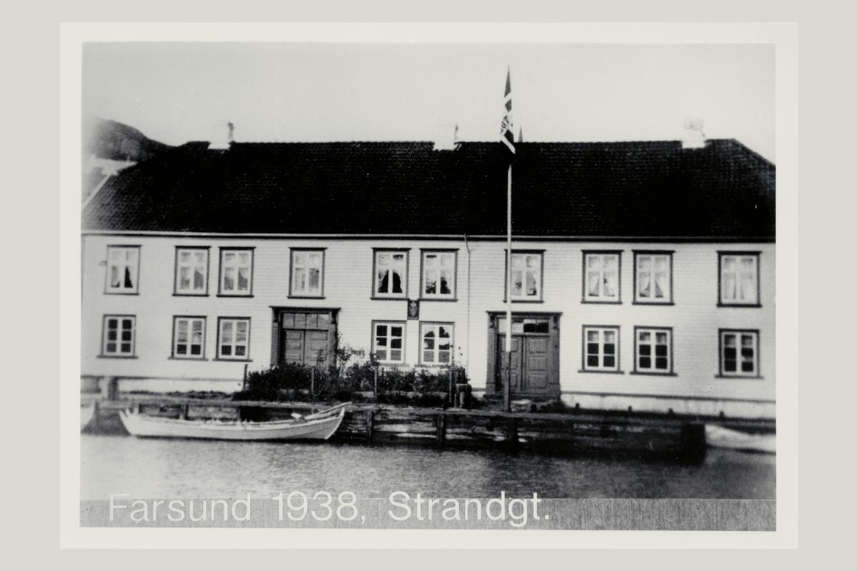 eksteriør, postkontor, 4550 Farsund, tollbuhuset, båt