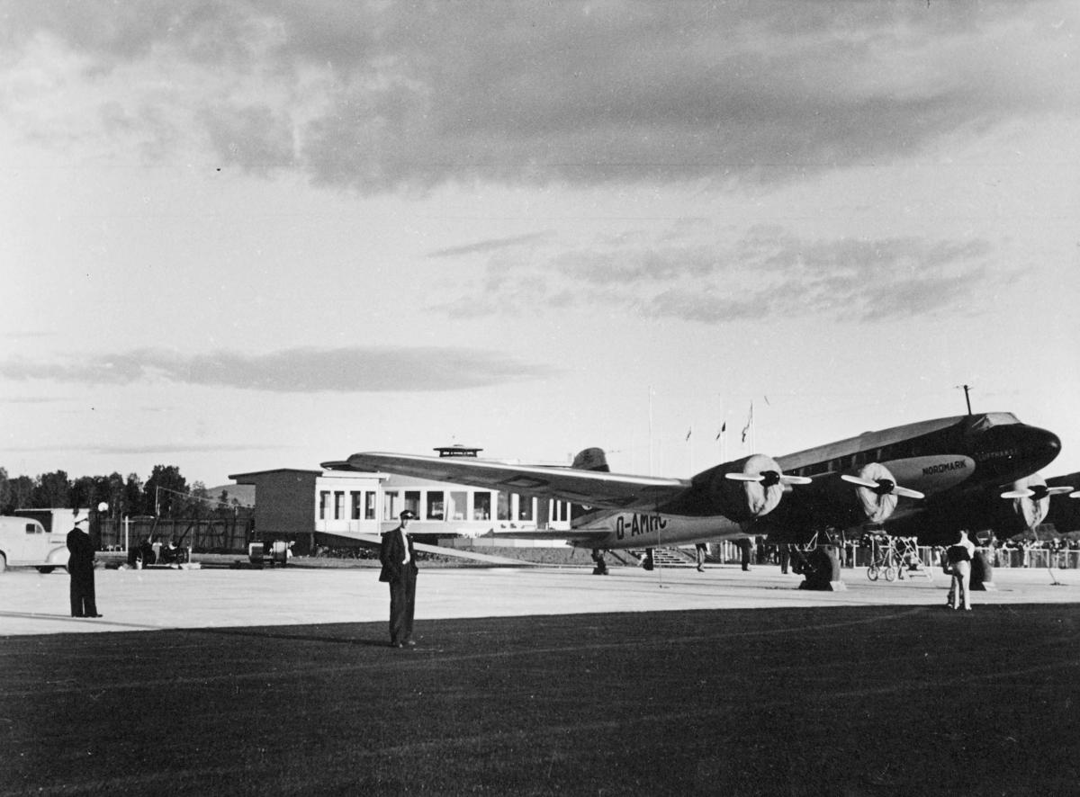transport, fly, Focke-Wulf 200 Condor, eksteriør, Fornebu, på bakken, menn