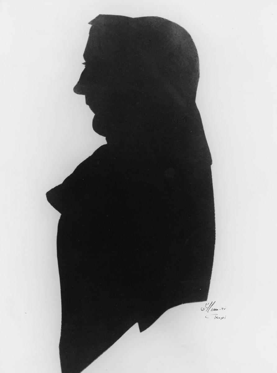 portrett, postmester, Jocum Friderich Rasmus Mossin