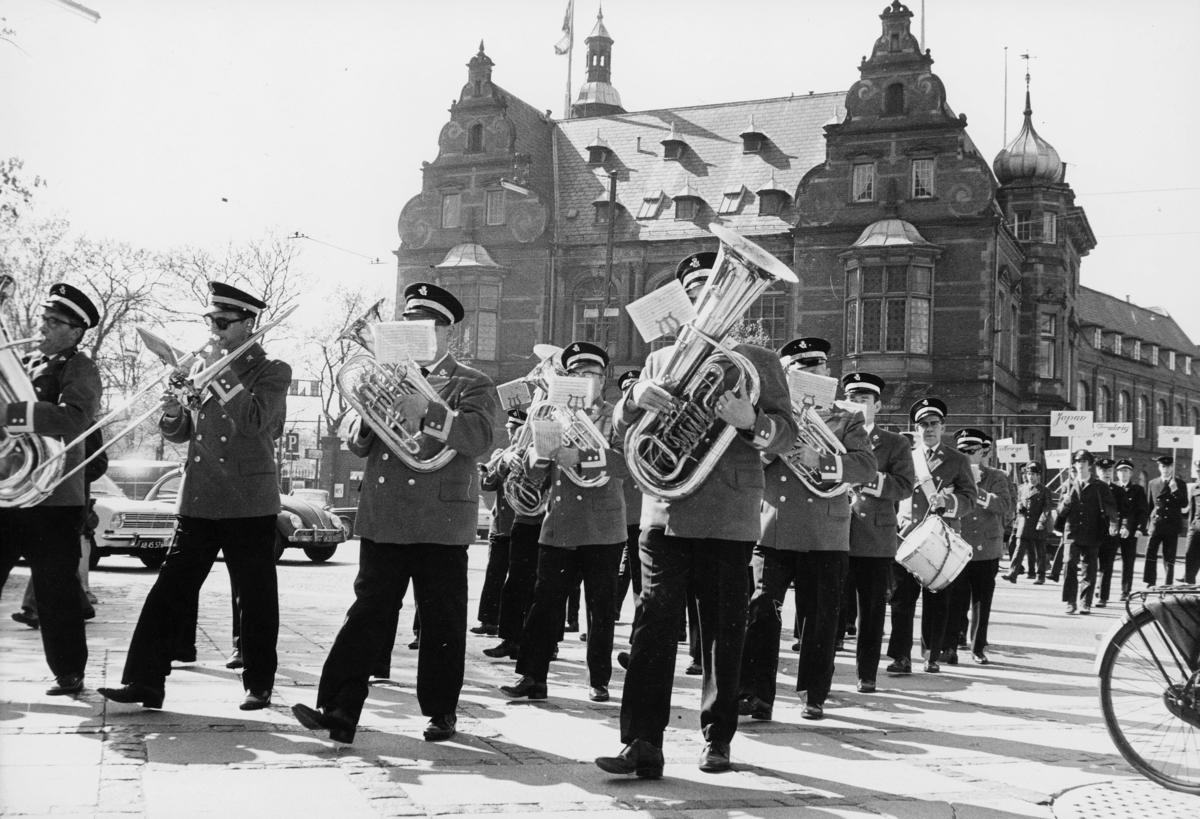 uniform, Danmark, postbuduniform, orkester