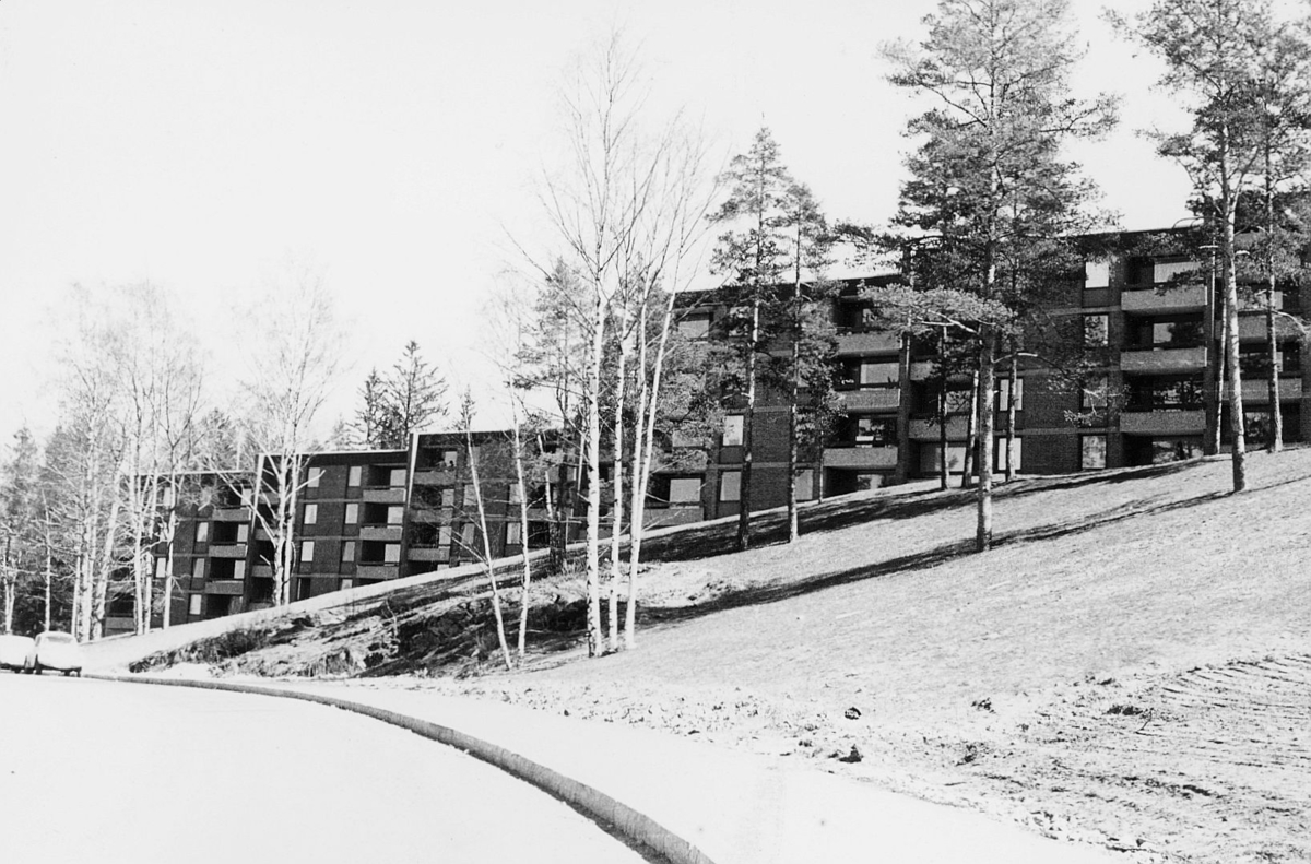 velferd, blokker, Johan Castbergsvei, Haugerud, Oslo, eksteriør