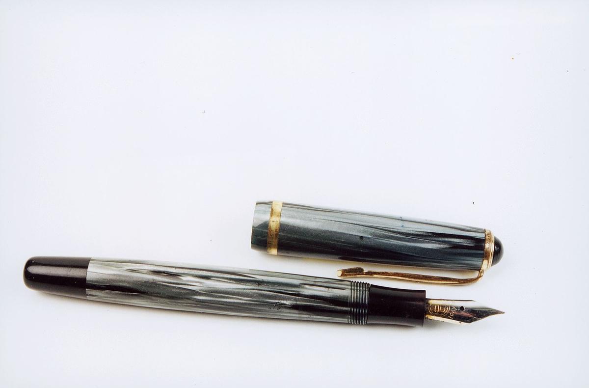 postmuseet, gjenstander, penn, fyllepenn, Pan jr.