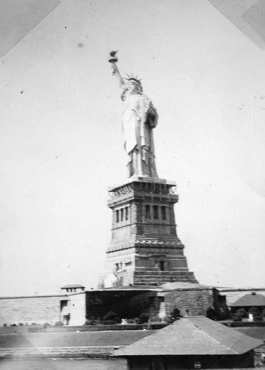 New York, frihetsgudinnen