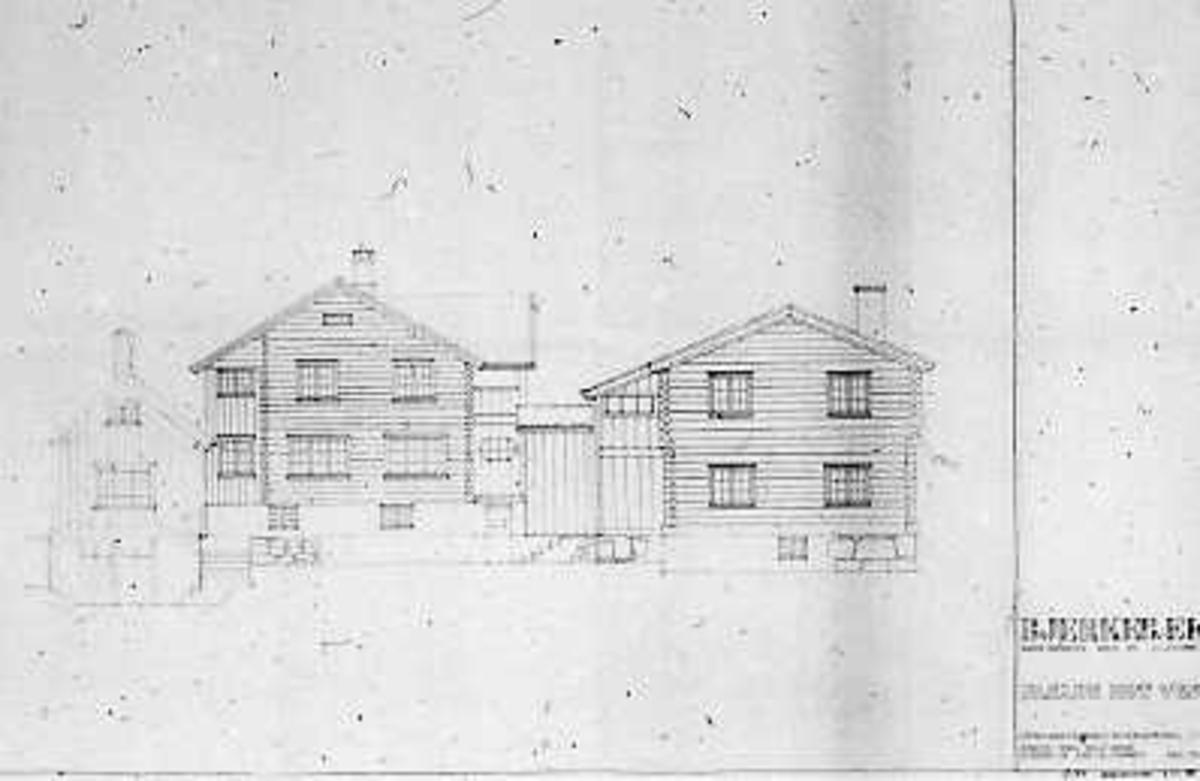 Hustegninger, fasadetegning