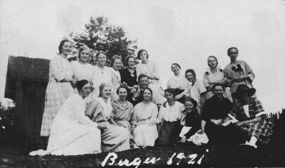 Syklubb på Berger.