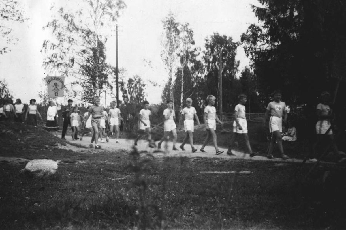 Fjeldguttene, tatt under Fjeld-dagene 1956.