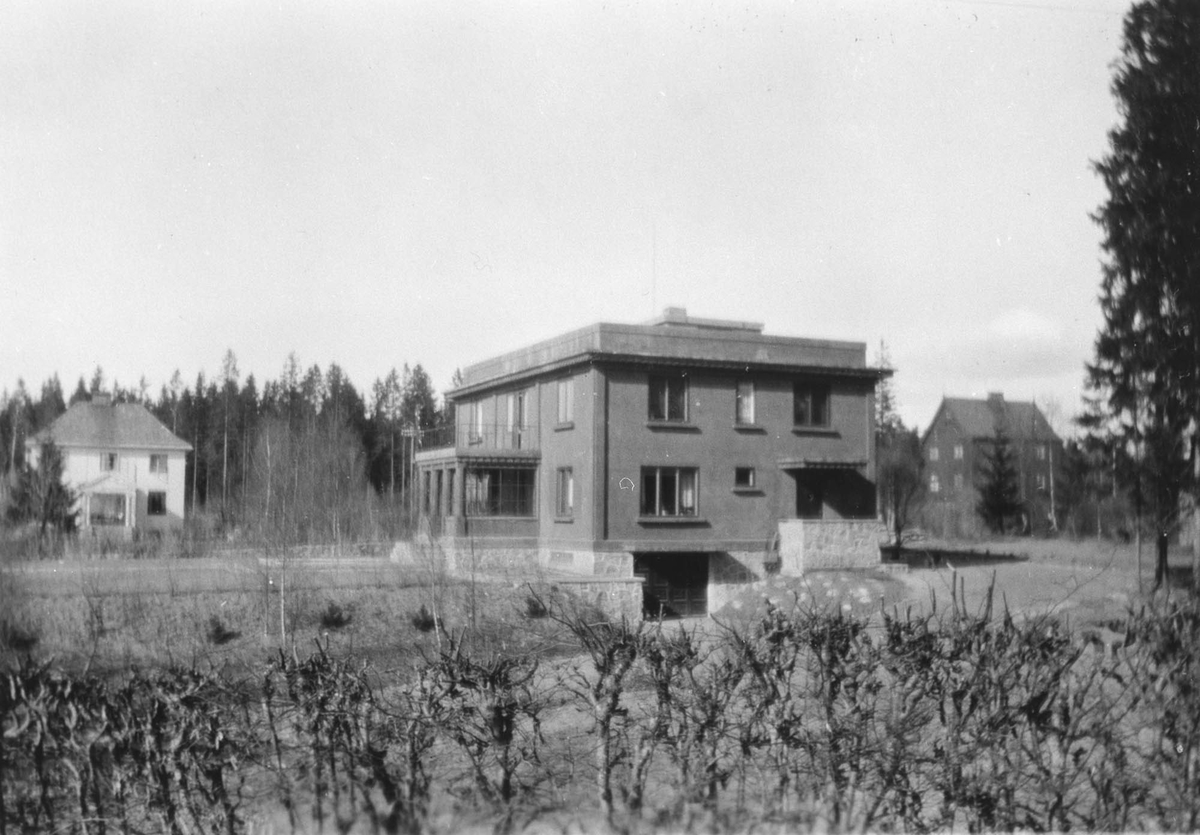 "Villa ""Libra"" nybygget, også kalt Brunosten."