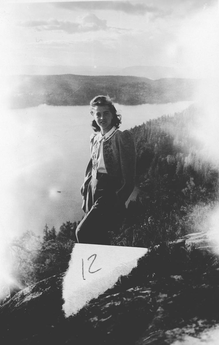 Margit Dahl på byåsen.
