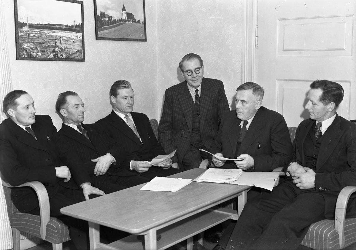 Sørumsand Herredstyre 1948-51.