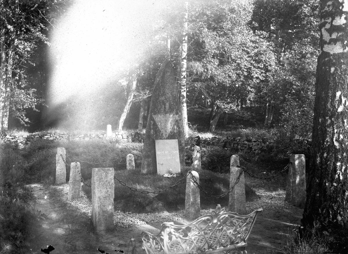 Gravsted. Eilert Sundt 08.08.1817-13.06.1875. Nicoline Sundt fdt. Hansen 1822-1891.