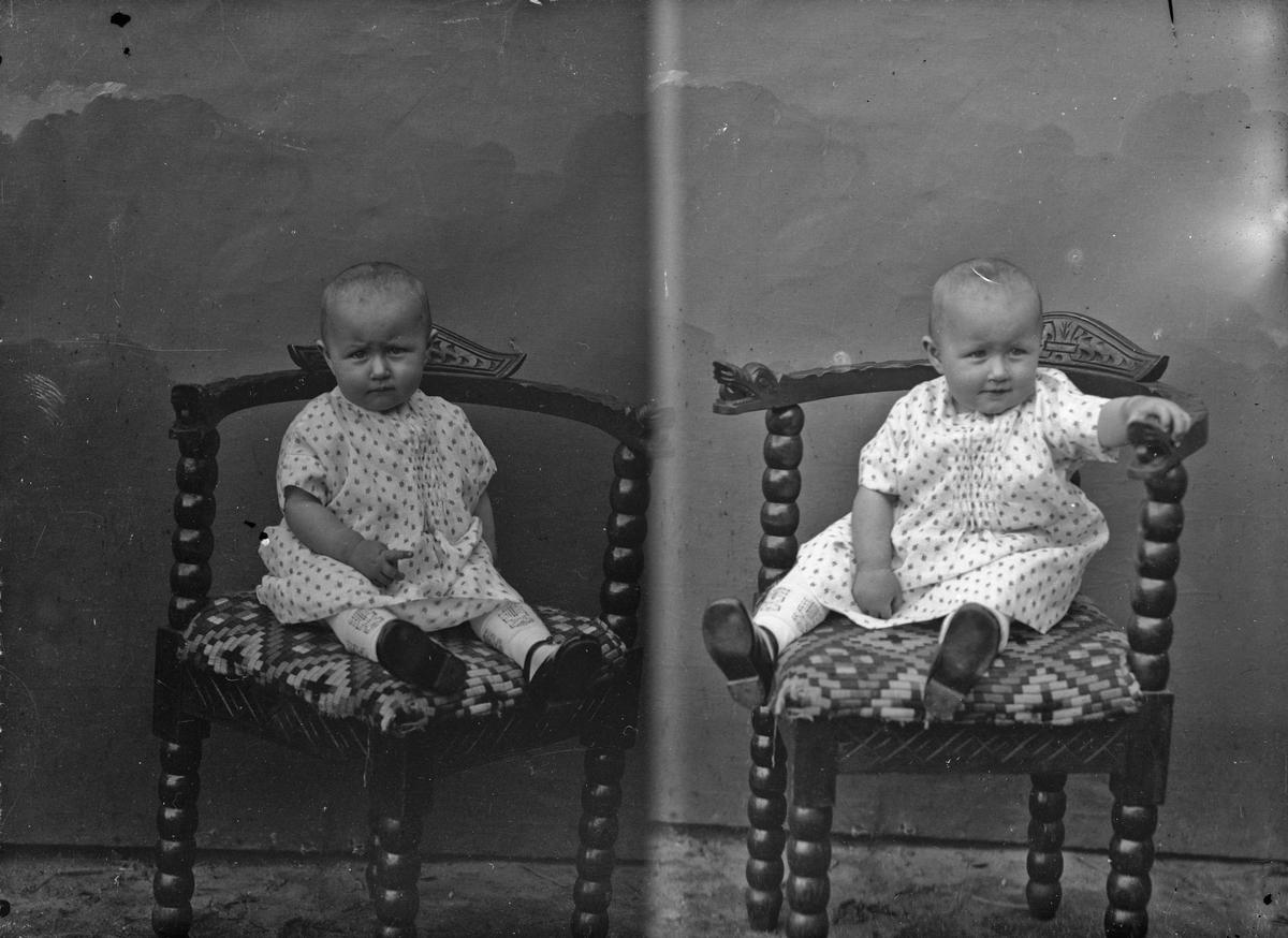 Portrett. Barn