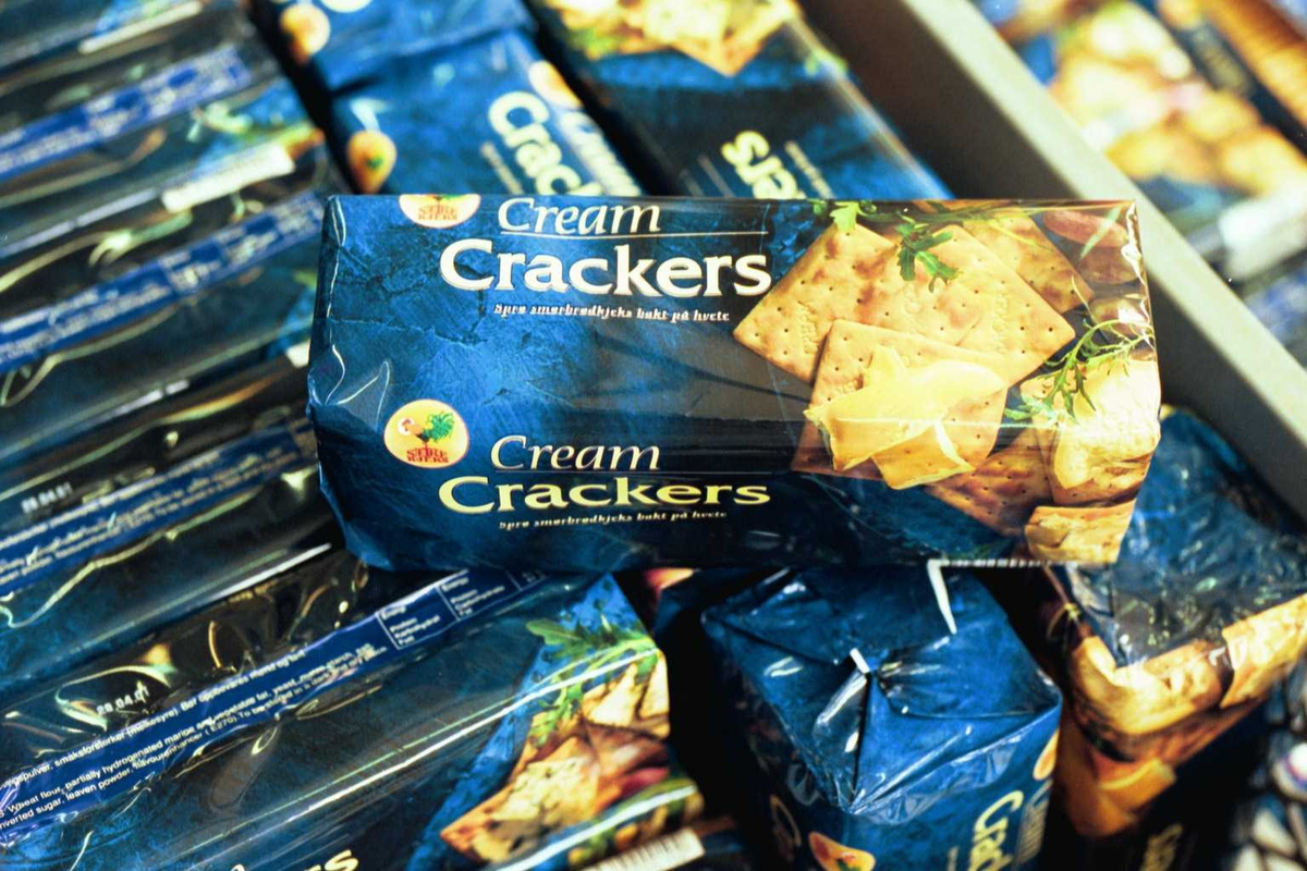 Cream Cracker, kjekspakker