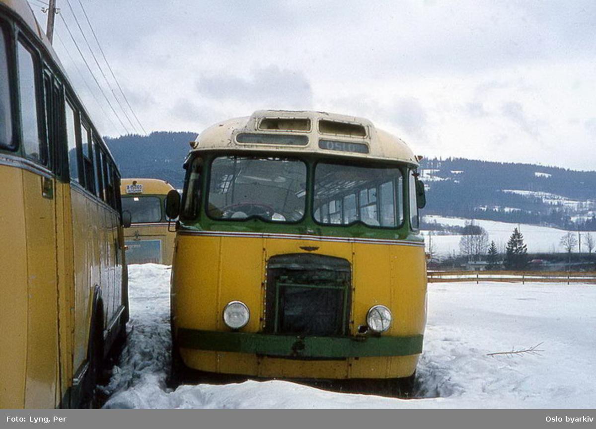 Busser, Ing. M.O. Schøyens Bilcentraler (SBC) buss A-15082 avskiltet.