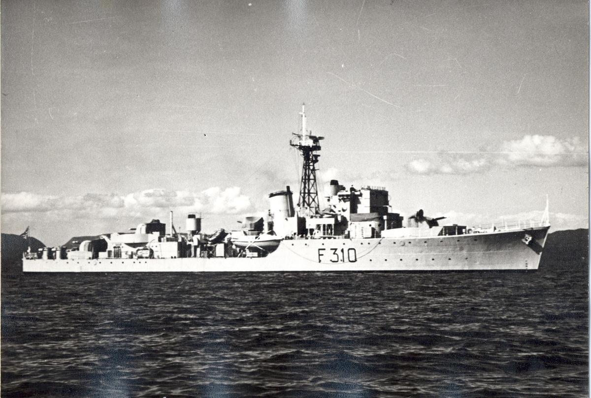 KNM Arendal, fregatt av Hunt klasse jager