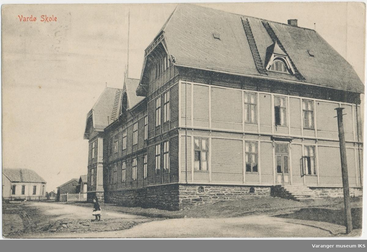 Postkort, Vardø gamle barneskole
