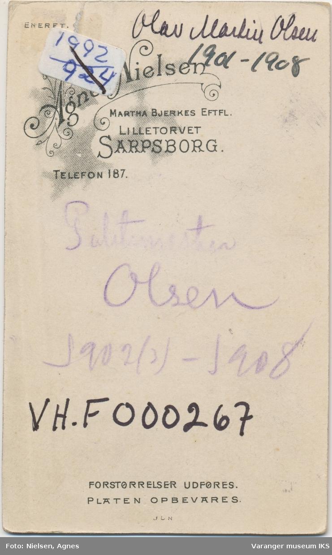 Portrett, Olav Martin Olsen