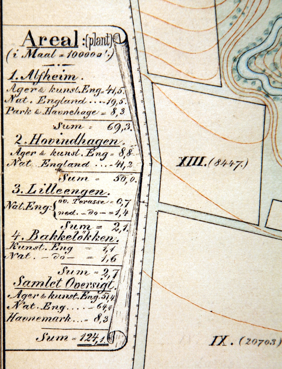 Kart over Alfheim-detalj