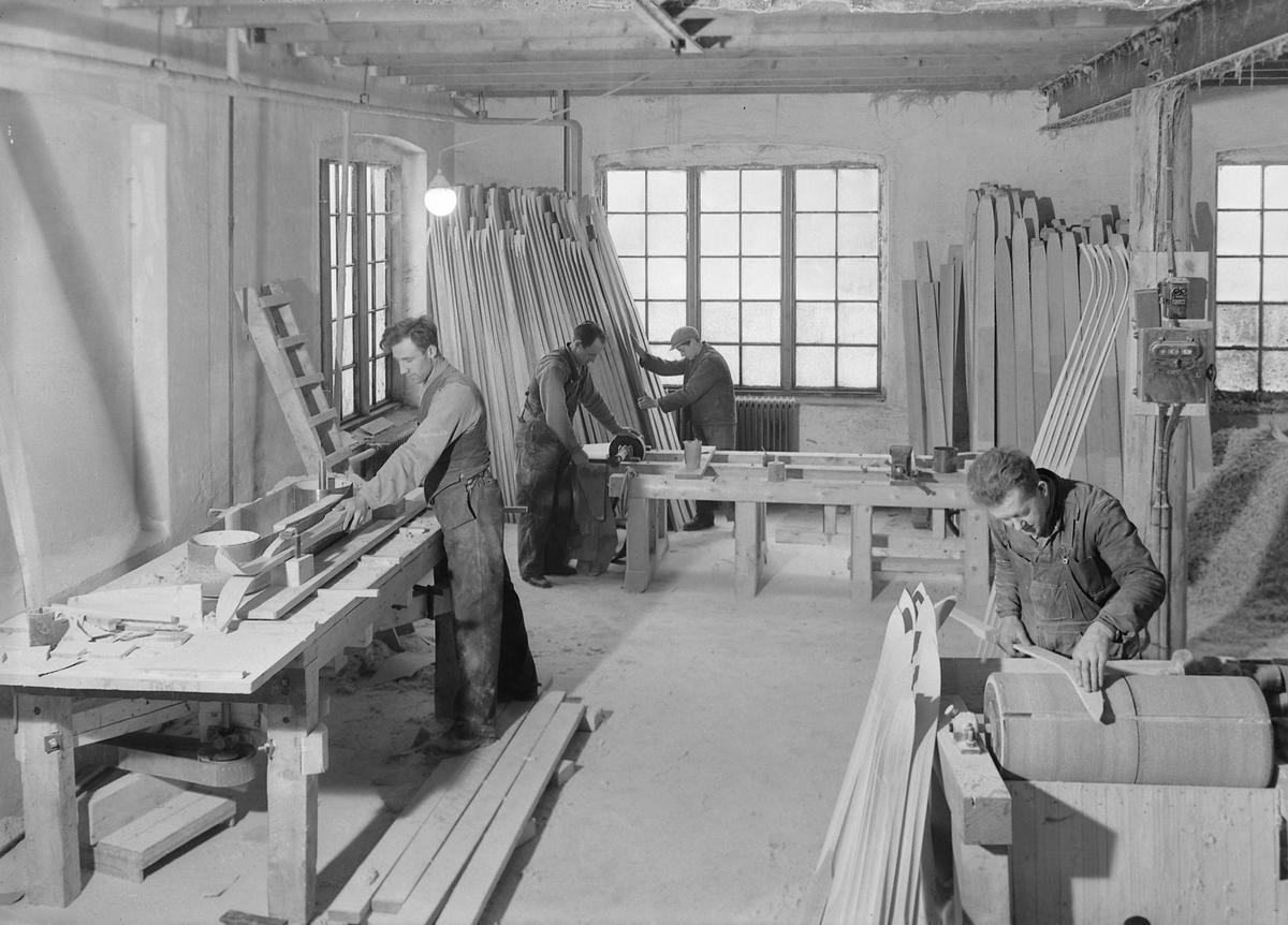 Bruun & Knudsen skifabrikk på Selsbakk