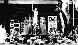 treskurd, dyrefigurar, menneskefigurar, Voss Varemessa