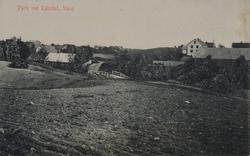 Parti ved Rabstad, Vang, Hamar.