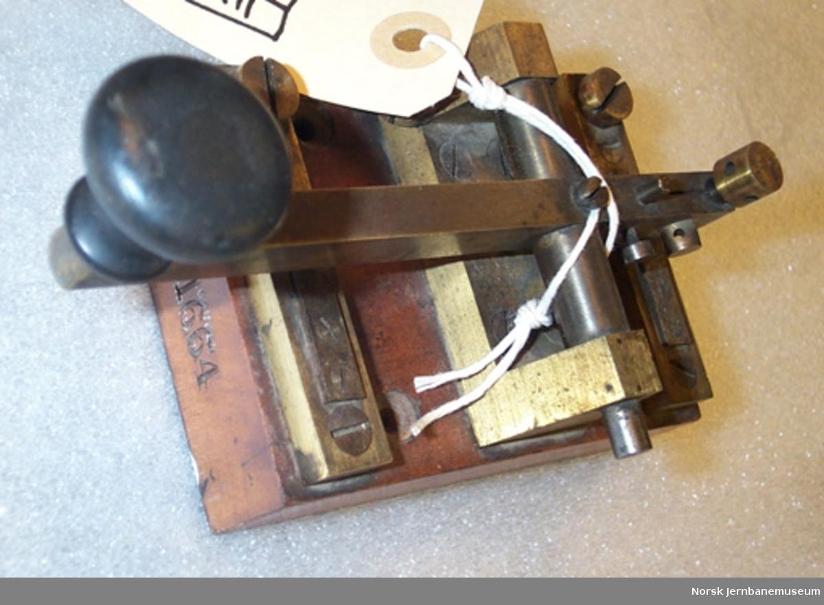 Morsenøkkel - Nøkkel til morselegraf