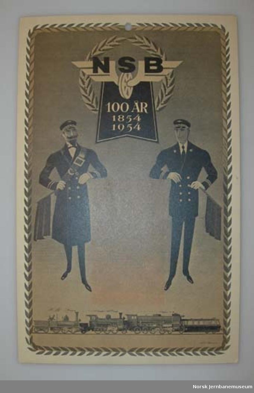 Oppslag : NSB 100 år 1854-1954