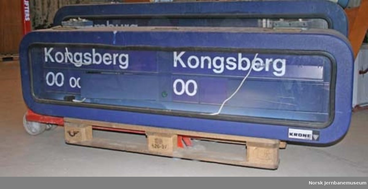 Toganviser fra Oslo S