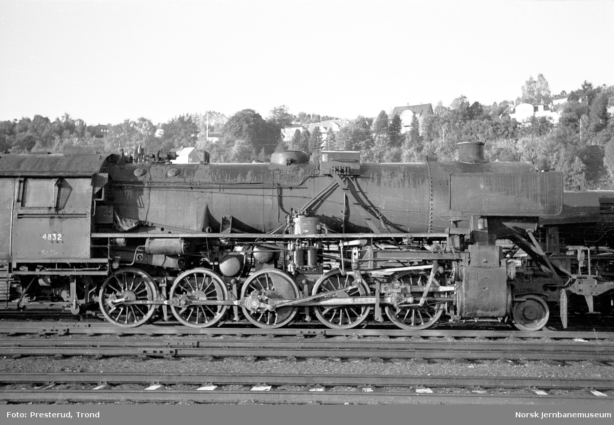 Damplokomotiv type 63a nr. 4832