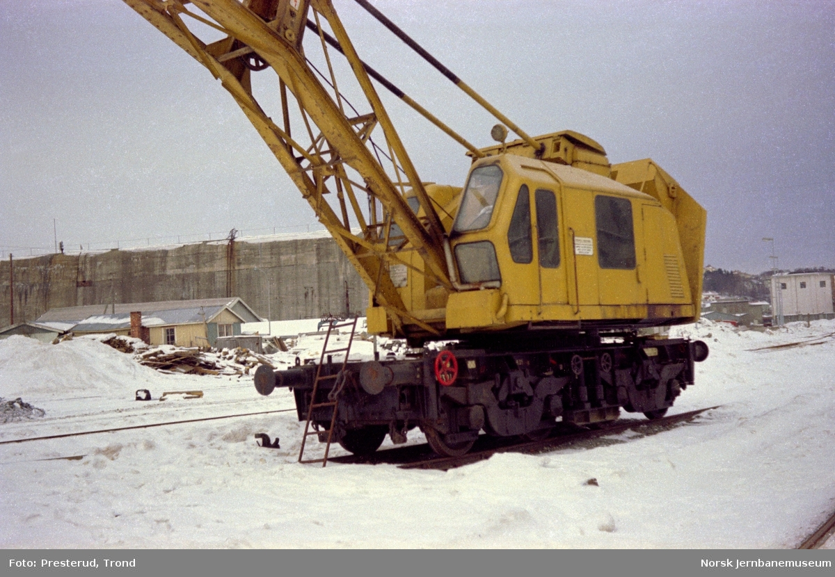 Kranvogn bygget av Gottwald litra Rk nr. 1301