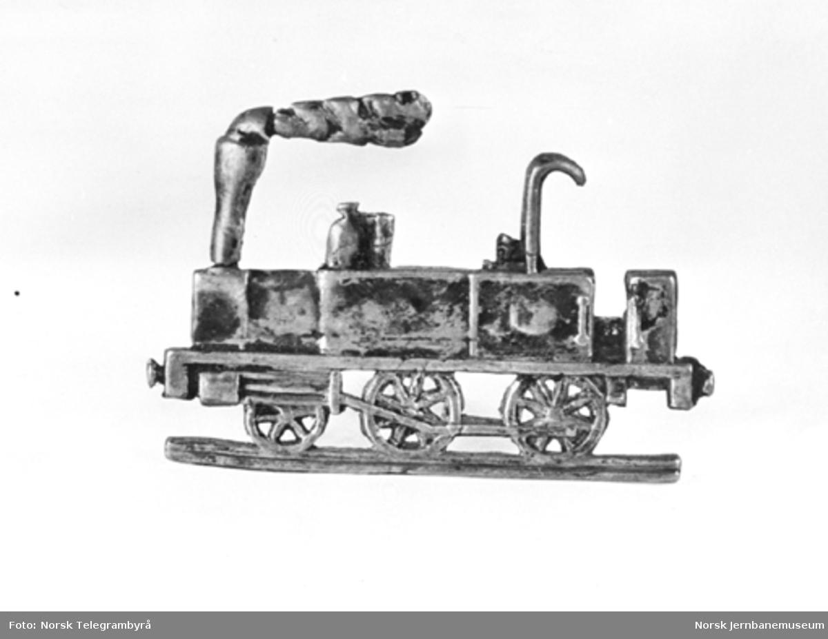 Jernbanemuseet på Disen : Lueemblem for lokomotivfører