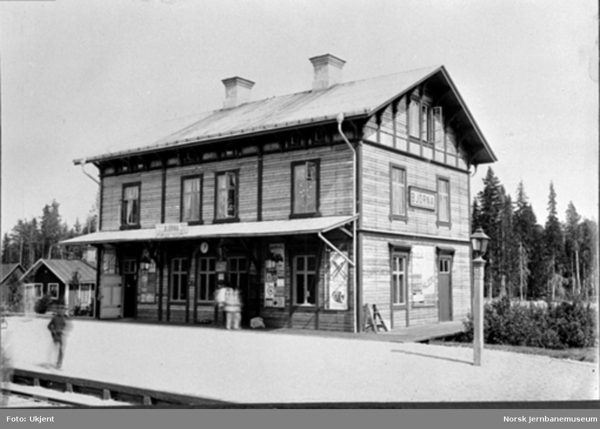 Sverige : Björna stasjonsbygning