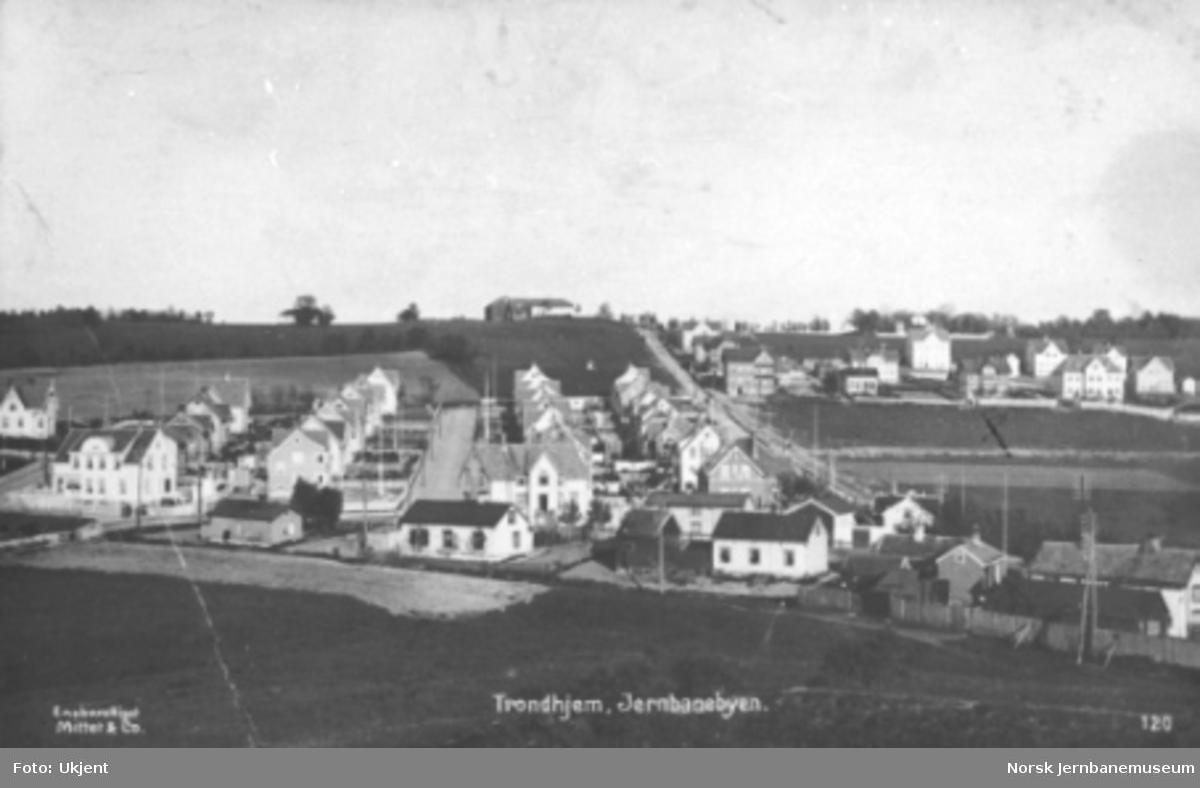 """Jernbanebyen"" i Trondheim"