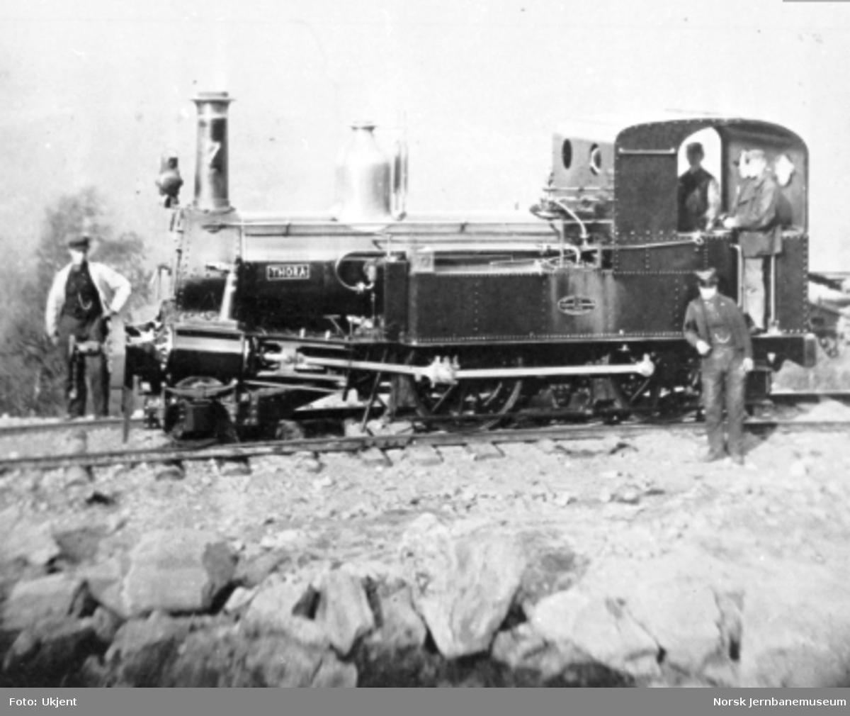 """Damplokomotiv type IV nr. 7 """"Thora"""""""