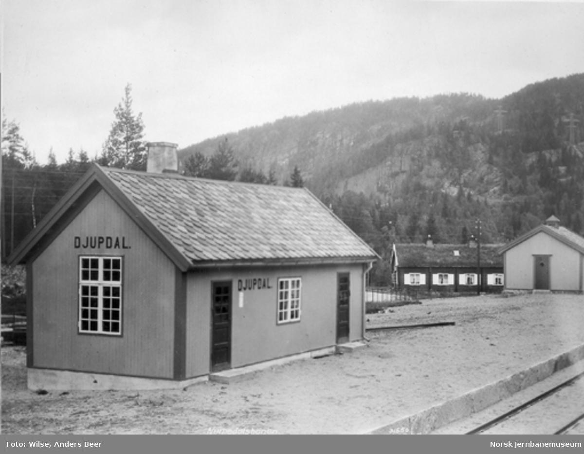 Djupdal stasjonsbygning