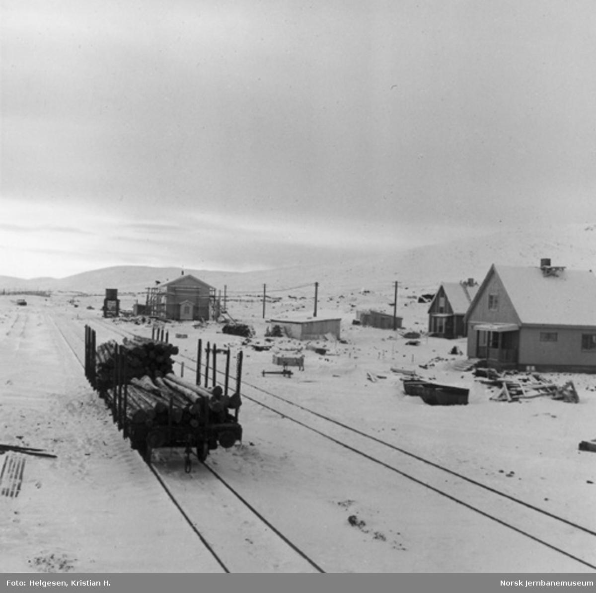 Oversiktsbilde over Stødi stasjon