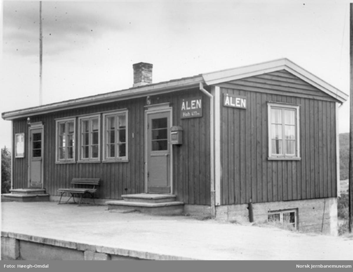 Ålen stasjonsbygning