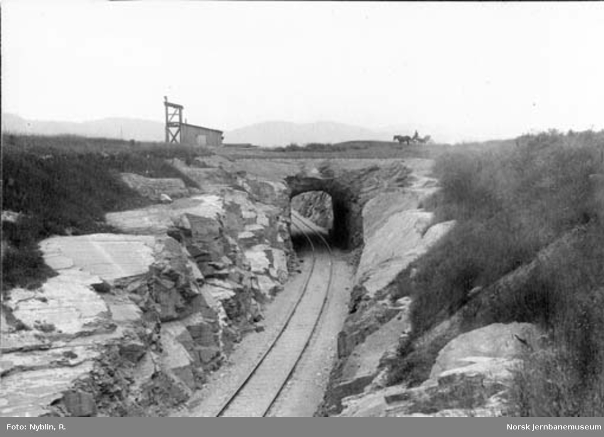Bø tunnel på Bratsbergbanen