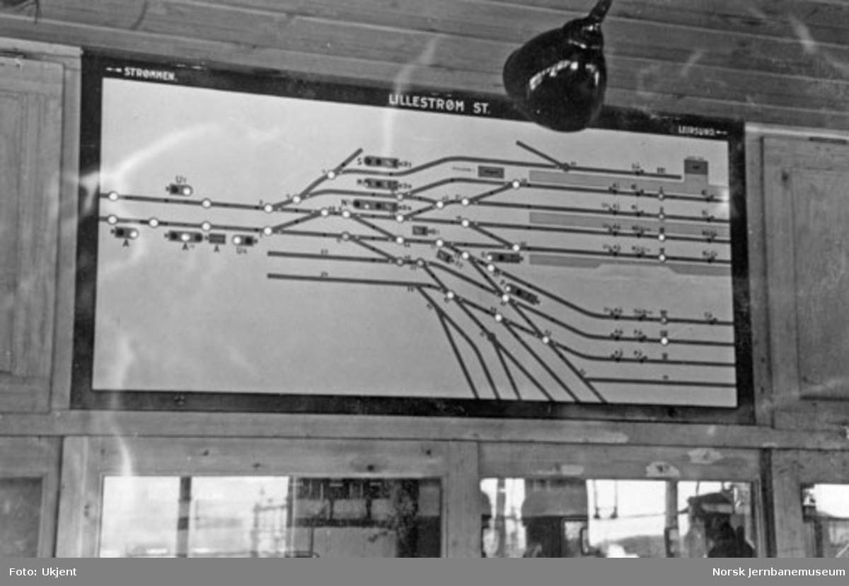 Sikringsanlegget på Lillestrøm stasjon : stillverk 1