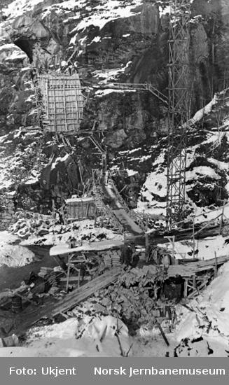 Hunsdalen viadukt : brustedet sett mot nord