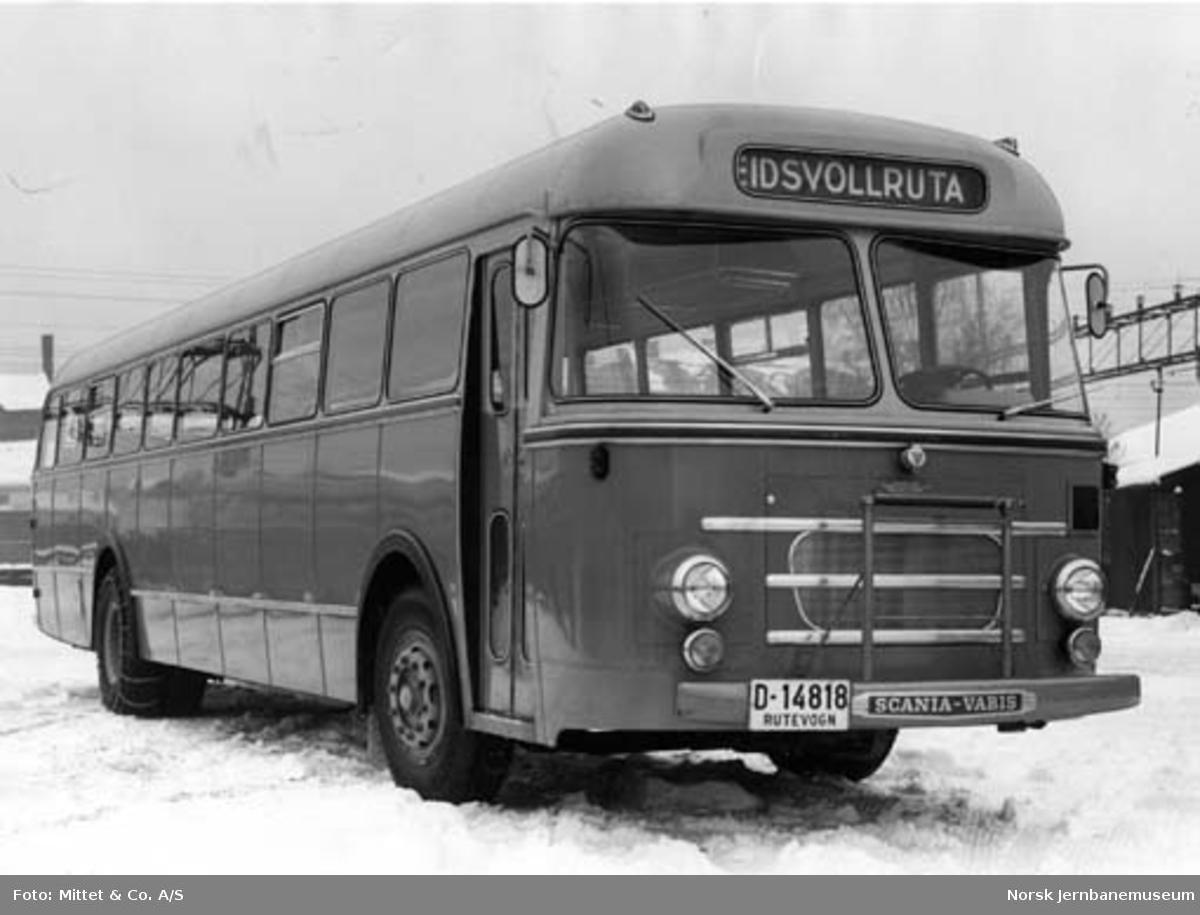 NSB Odal-Eidsvollrutas buss D-14818